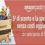 amazon pantry buono 5 euro
