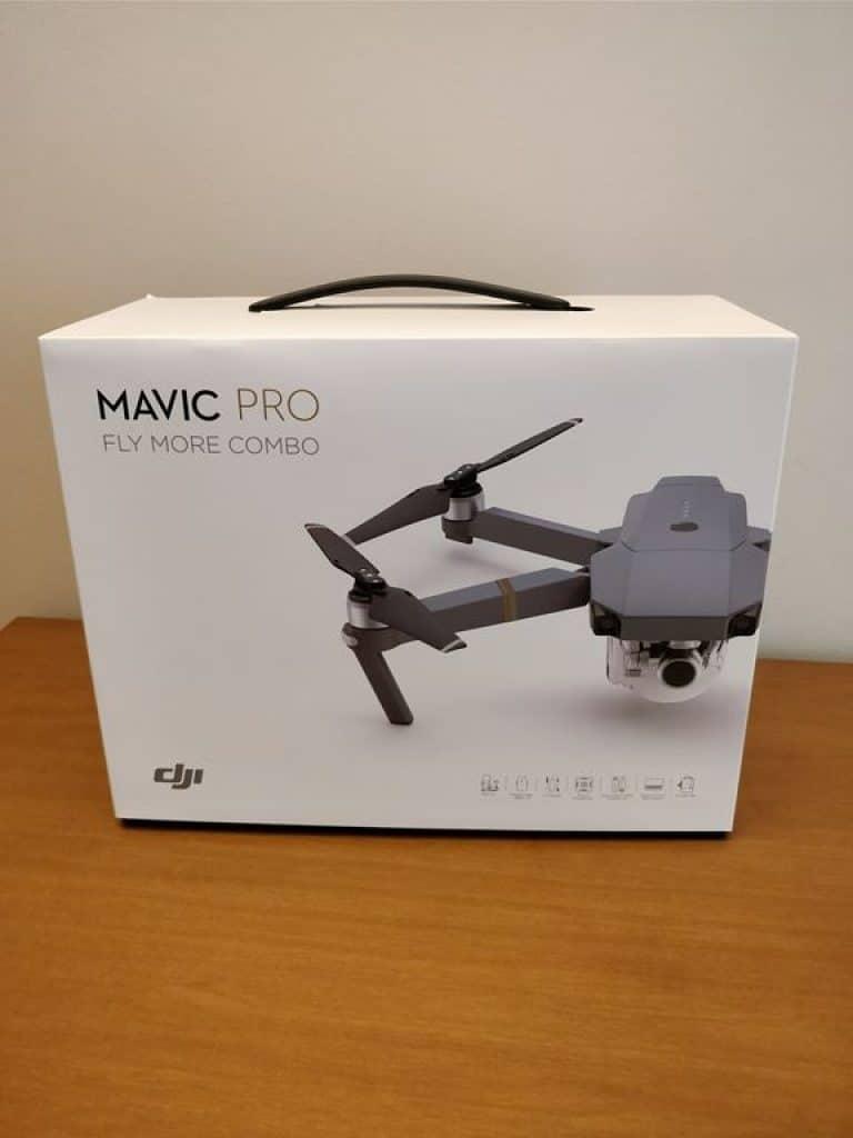 Dji Mavi Pro confezione vendita fly more combo
