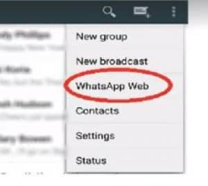 whatsapp web spia