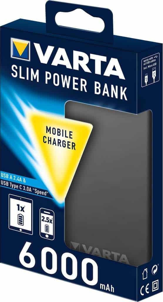 Recensione Varta Power Bank 6000mAh