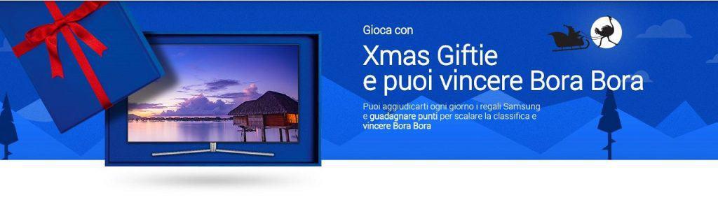 Samsung regala tanti premi con Xmas Giftie
