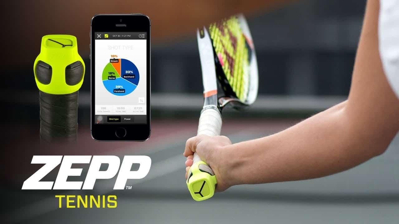 Zepp Tennis, il sensore per smartphone per migliorare la tecnica sportiva