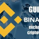 binance exchange di criptovalute