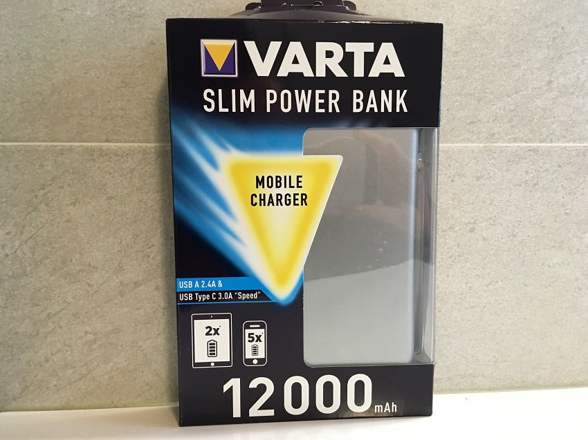 Recensione Varta Slim Power Bank 12000 mAh