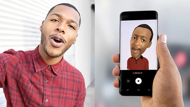 Animoji in iPhone e AR Emoji Samsung: le differenze