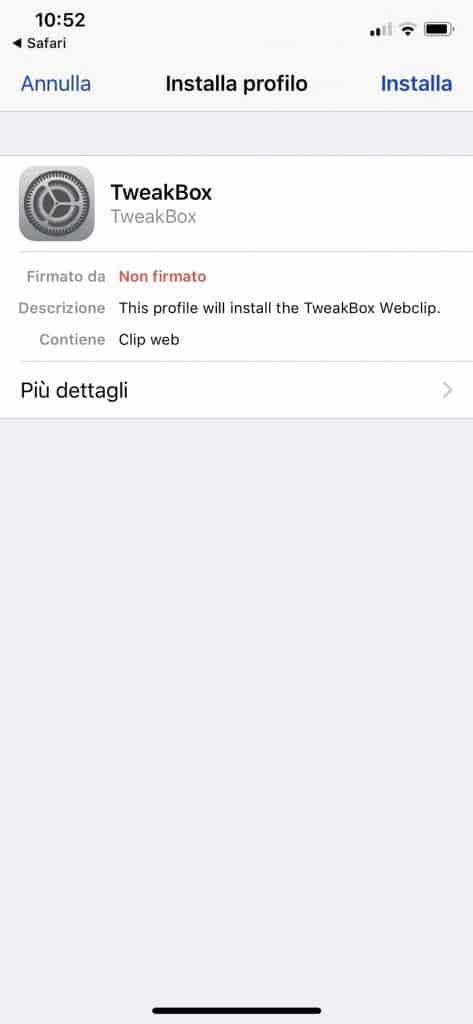 TweakBox: lo store alternativo per iOS