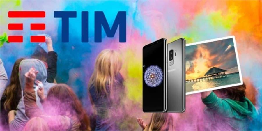 TIM Party regala 20 Galaxy S9+ al giorno fino al 6 agosto e un viaggio