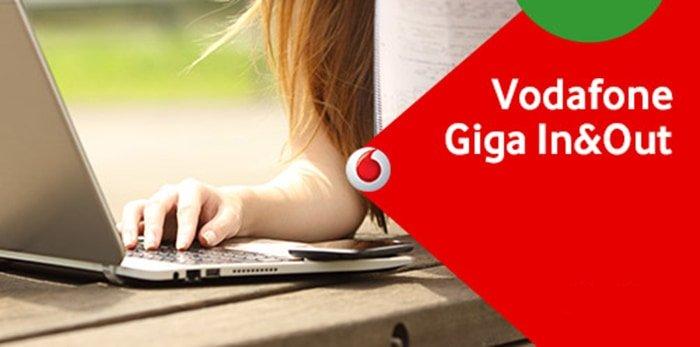 Vodafone proroga le offerte Giga In&Out