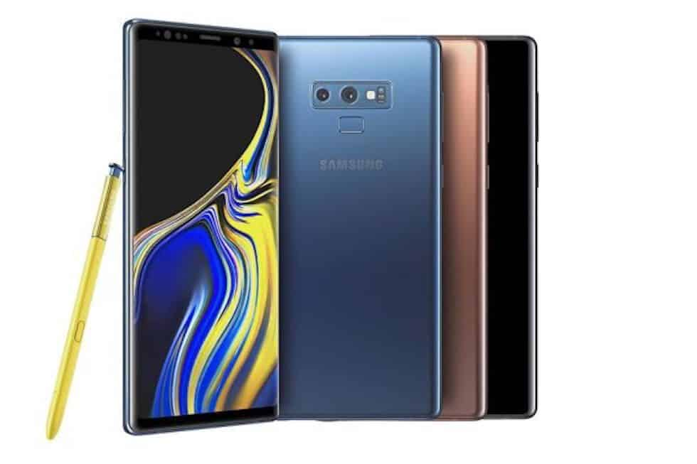 Vinci un Galaxy Note 9 al giorno con Samsung Pay