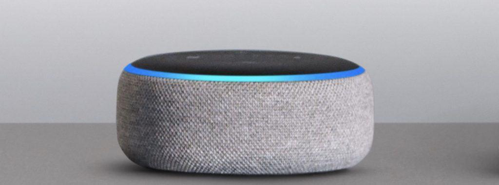 Amazon Echo Dot in offerta per black friday