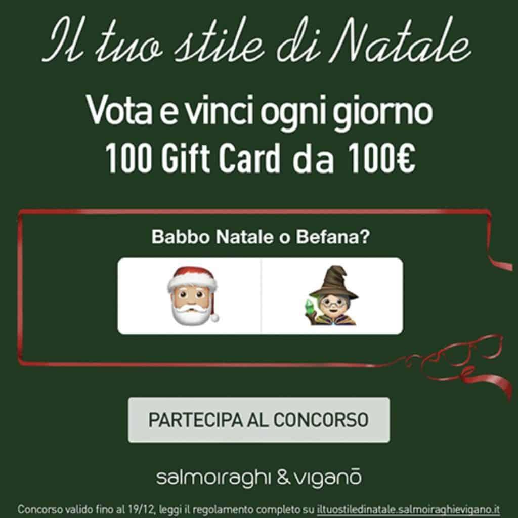 Salmoiraghi & Viganò offre 100 Gift Card da 100€