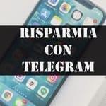 risparmia con telegram