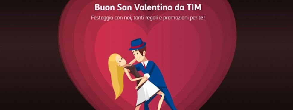 TIM Party: regali e sconti per San Valentino