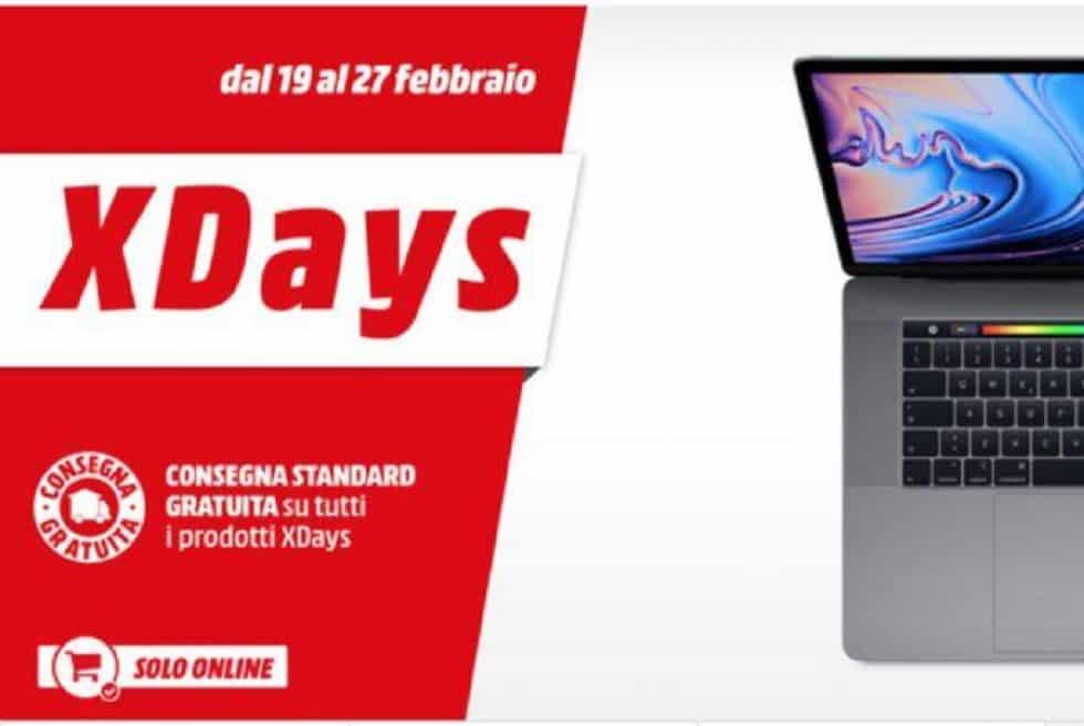 "MediaWorld lancia i suoi ""X-Days fino al 27 febbraio"