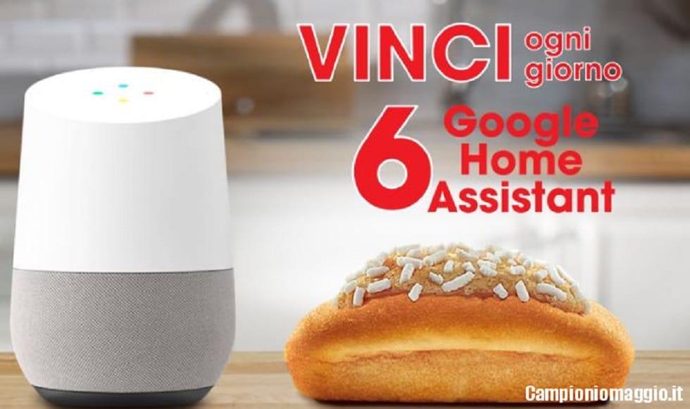 Vinci ogni giorno Google Home con Buondì