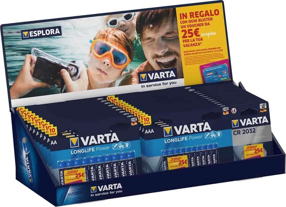 Vai in vacanza con Varta: scopri la fantastica promozione