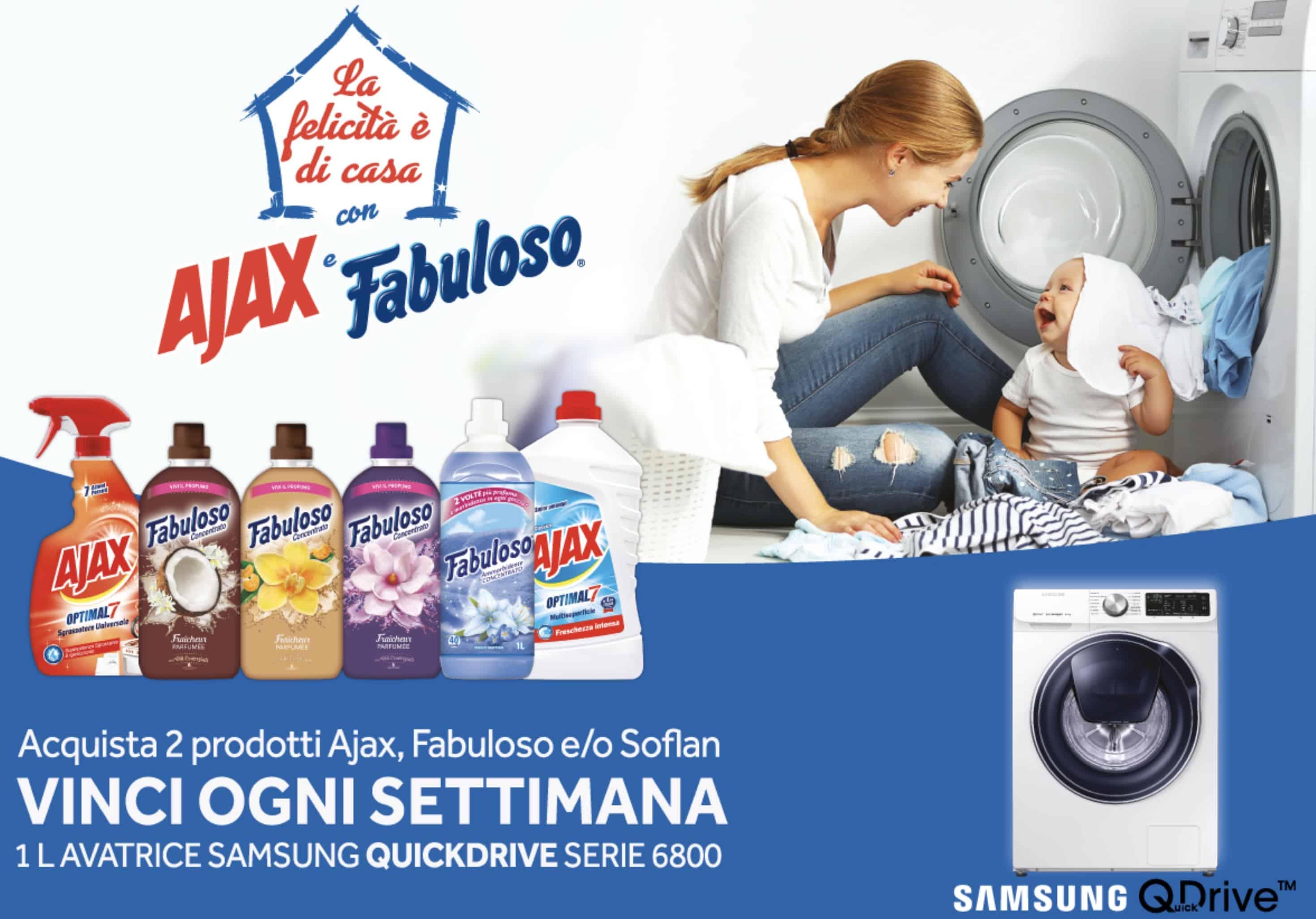 Vinci una lavatrice Samsung del valore di 999€