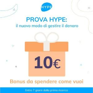 10 euro gratis con hype