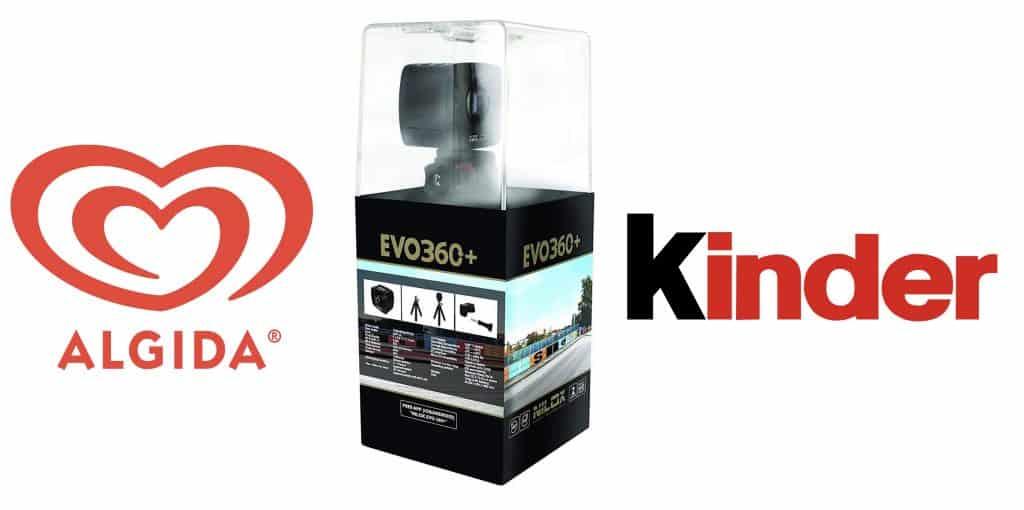 Gioca con Algida e vinci l'azione in palio 60 Action Camera Nilox 360 EVO