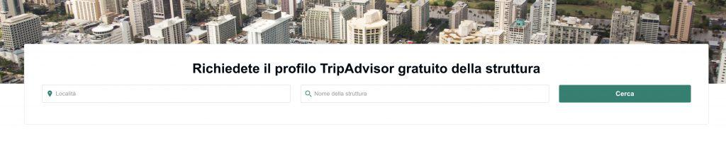TripAdvisor per proprietari