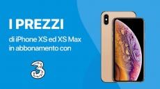 Tariffe Tre Italia per acquistare iPhone XS e XS Max