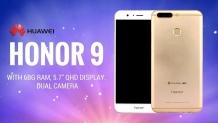 Honor 9 è in pre-ordine su Amazon UK