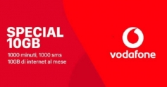 Vodafone rilancia con un'offerta a 7 euro al mese