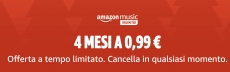 4 Mesi di Amazon Music Unlimited a 0,99€