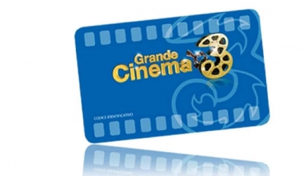 Tre Italia proroga l'iniziativa Grande Cinema 3