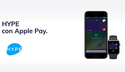 10 euro gratis con la carta gratuita Hype (abbinabile anche ad Apple Pay)
