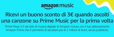 Amazon: come avere buono sconto di 3€
