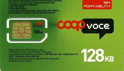 CoopVoce presenta TOP10 Giga più traffico bonus