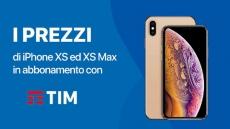 Le offerte TIM per acquistare iPhone XS e XS Max