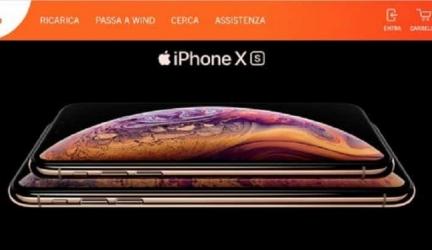 Ecco le offerte Wind per acquistare iPhone XS