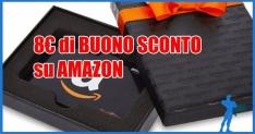 Buono sconto Amazon 8 euro su tutto il catalogo