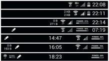 Come modificare la status bar in un telefono Android