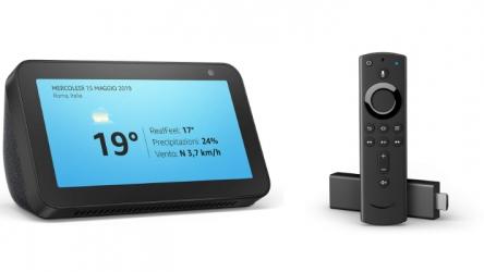 Echo Show 5 e Fire TV Stick 4K in offerta