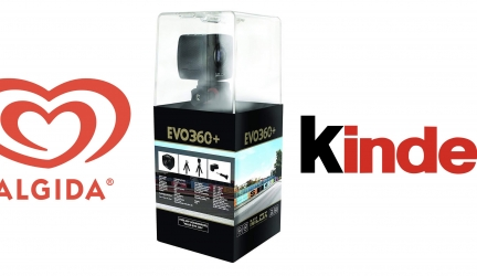 Gioca con Algida e vinci l'azione: in palio 60 Action Camera Nilox 360 EVO