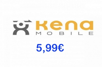 Kena 5,99 Flash: Minuti e SMS illimitati, 70 Giga
