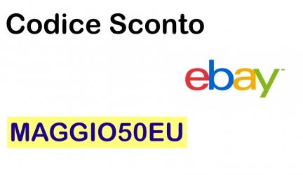Codice sconto eBay su Elettrodomestici, Climatizzatori, Caffé, Casa e Giardino