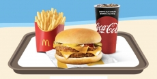 McDonald's Summerdays 2019: 1 McMenu Large Double Cheeseburger o Double Kicken BBQ a 4,90€
