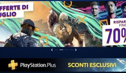 PlayStation Store: iniziati i summer sale con sconti fino al 70%
