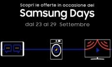 Samsung Days su Amazon dal 23 al 29 settembre