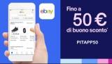 Sconto del 5% su eBay con il nuovo codice sconto, solo da App