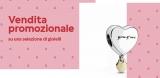 Vendita promozionale sullo store Pandora con sconti fino al 70%