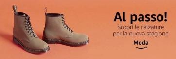 Su Amazon disponibili le nuove calzature autunno/inverno 2018