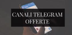 I primi canali Telegram dedicati a Sconti e Offerte