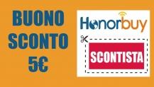 Codice sconto HonorBuy 5€