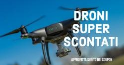 Tantissimi Droni in super sconto su Amazon [coupon]
