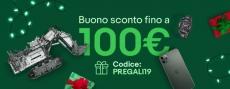 eBay 5% di sconto fino a 100 euro con il codice PREGALI19